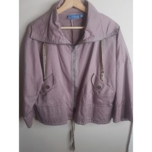 Simply Vera Wang Mauve Boxy Jacket